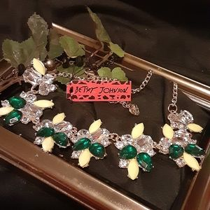 Betsey Johnson New Abstract Necklace